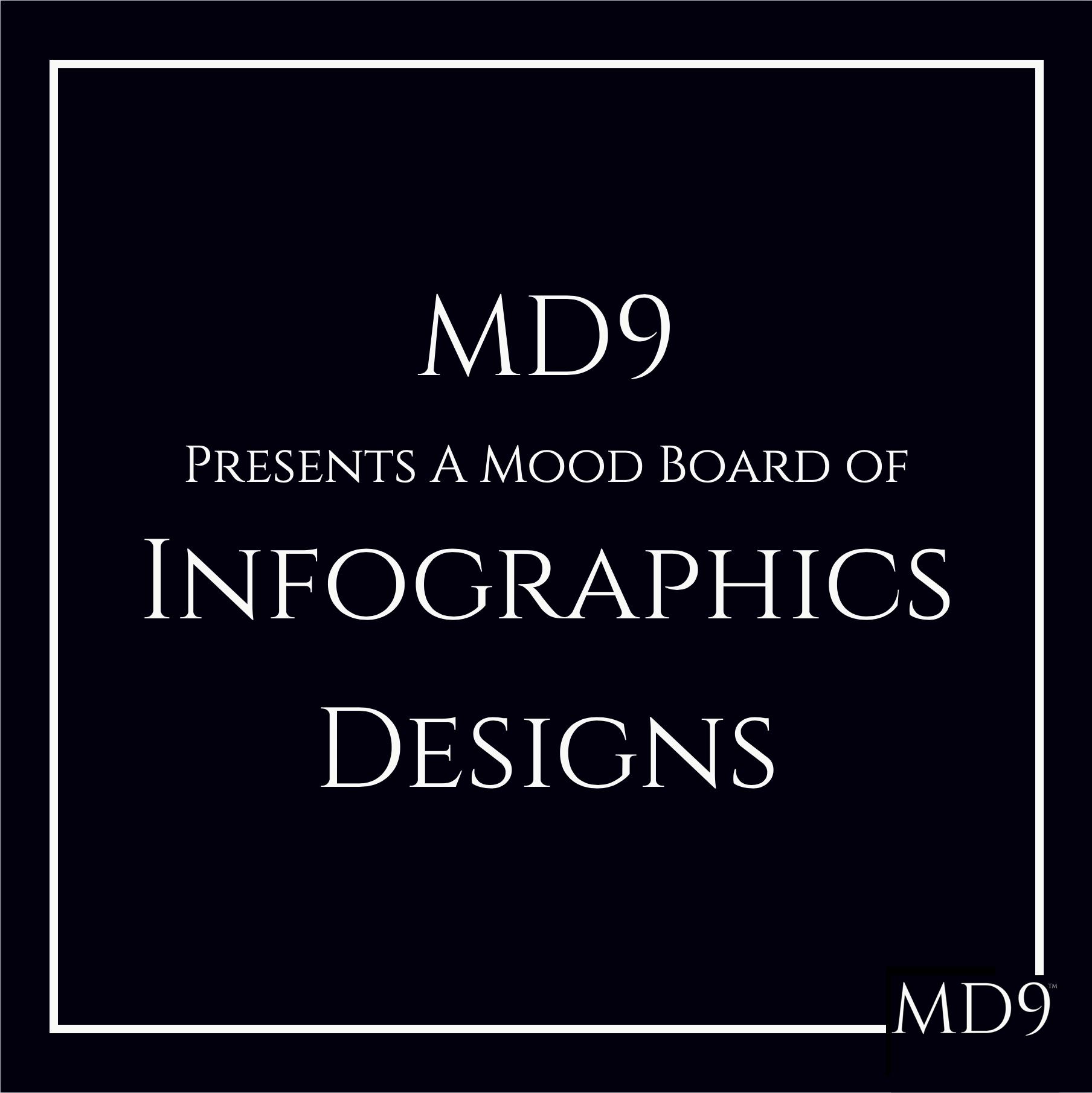 MD9's Design Mood Board – Infographics