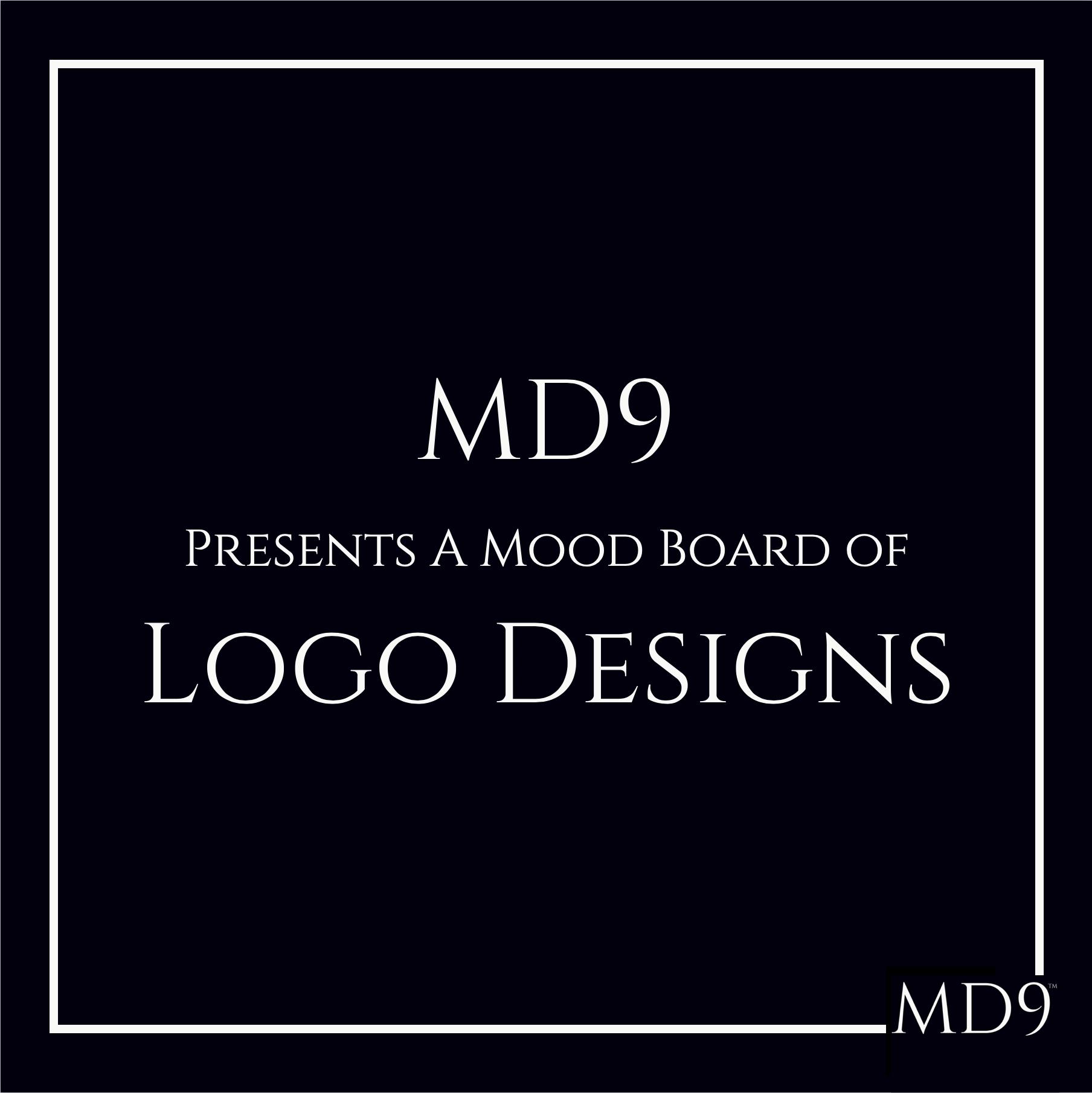 MD9's Design Mood Board – Logos
